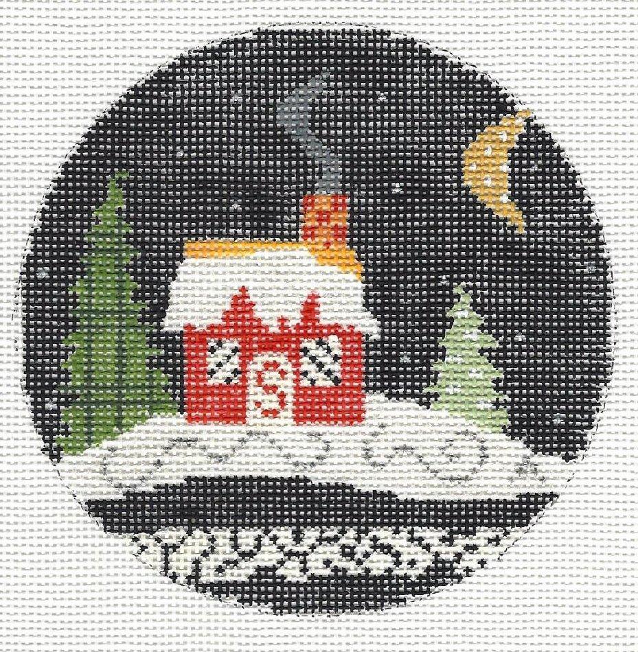 Snow Scene - Red House Kit