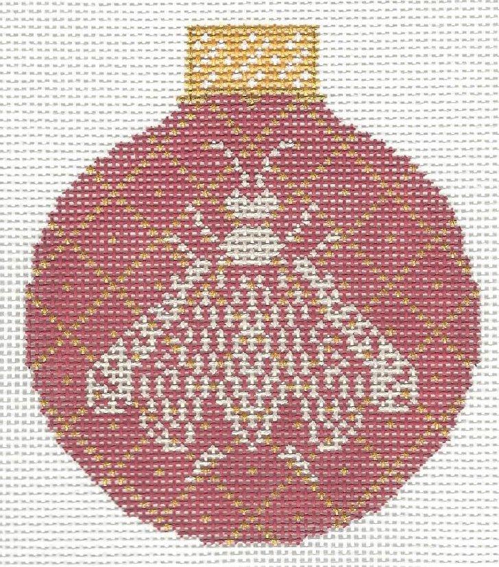 Napoleon's Bee Ornament Coral & Butter