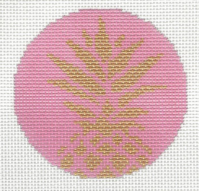 Pineapple Stencil - Pink