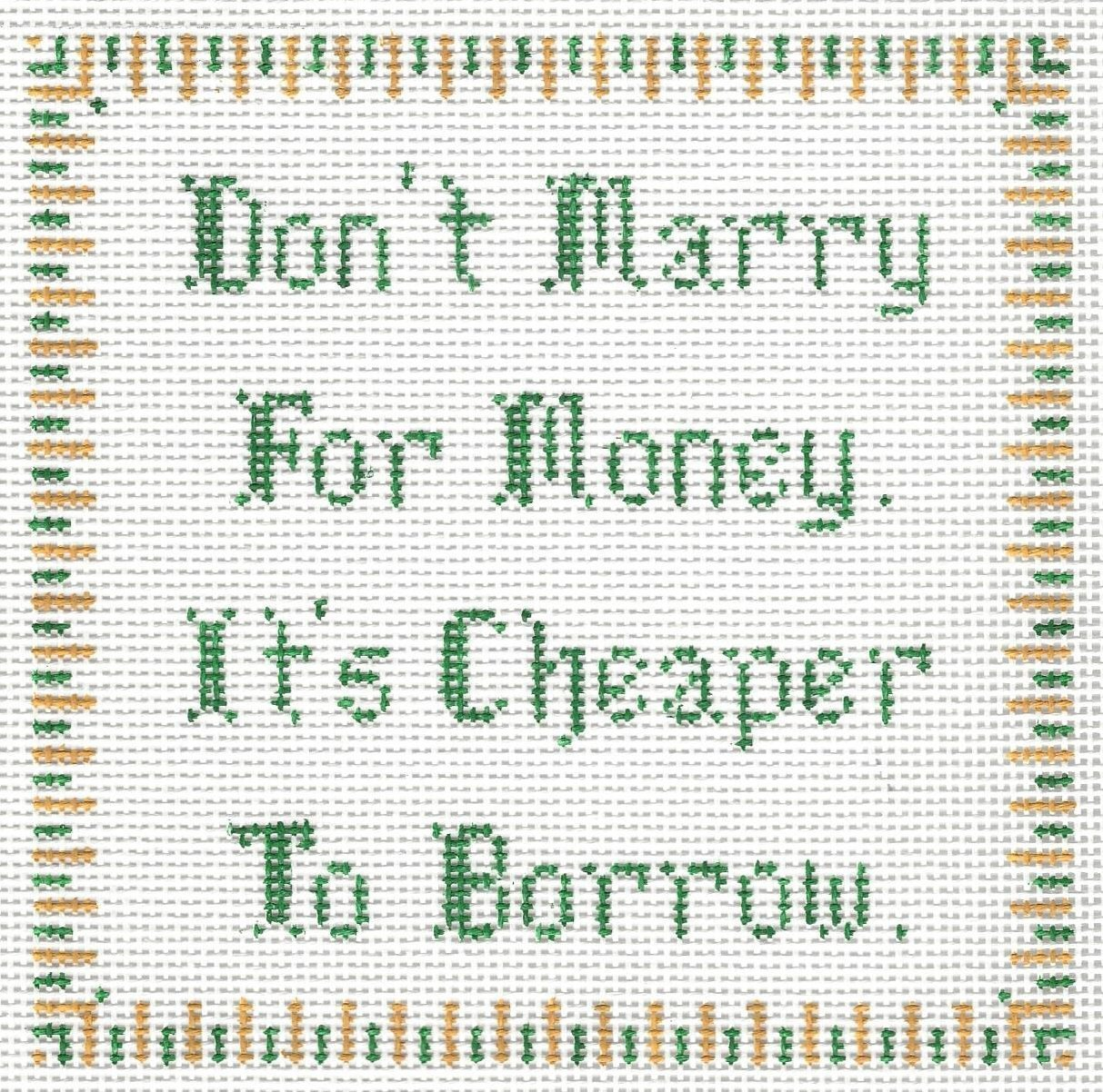 Don't Marry for Money