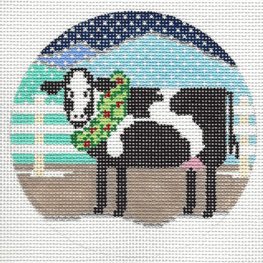 Cow with Wreath