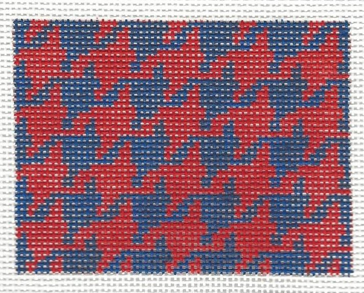 Insert - Red & Blue Houndstooth