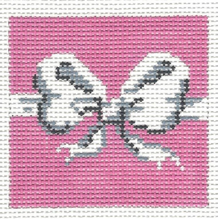 Large Bow Pink Insert
