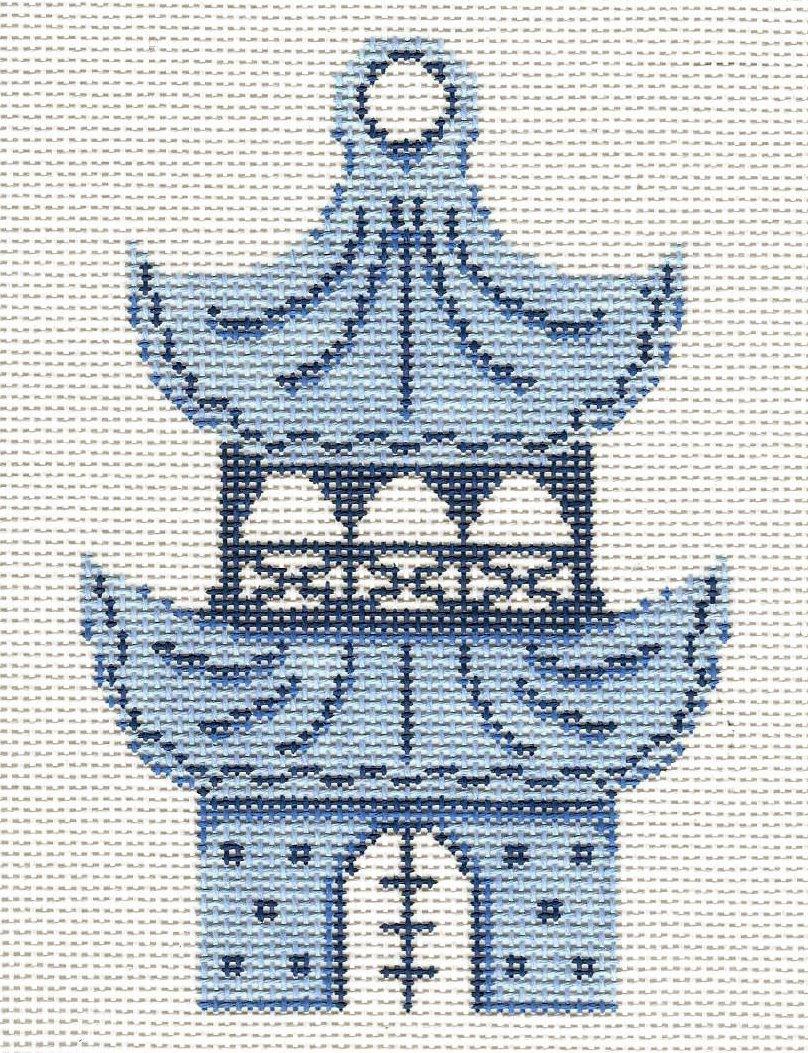 Blue & White Pagoda