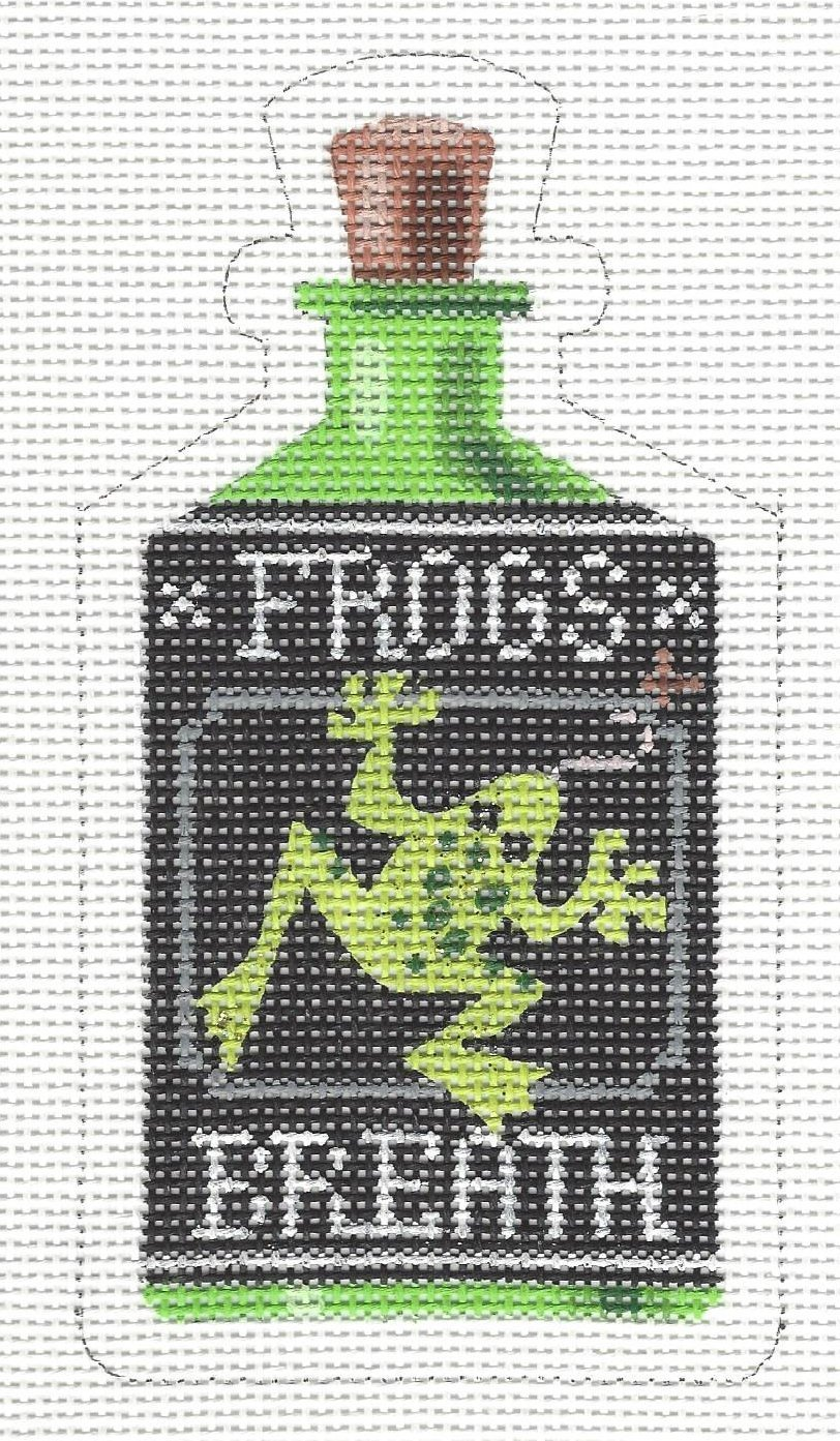 Halloween Bottle - Frog's Breath