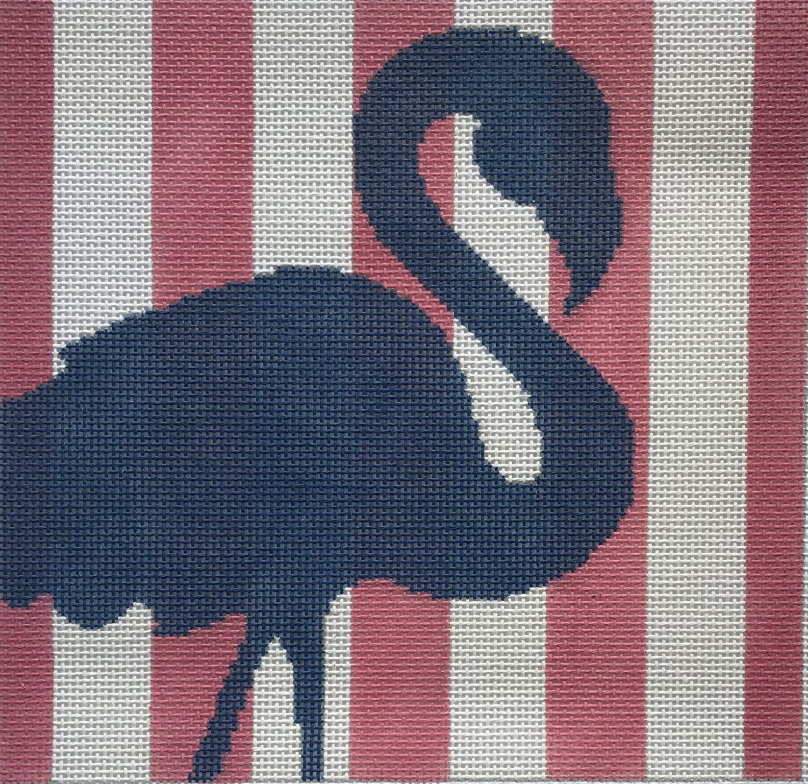 Flamingo Stencil - Hot Pink