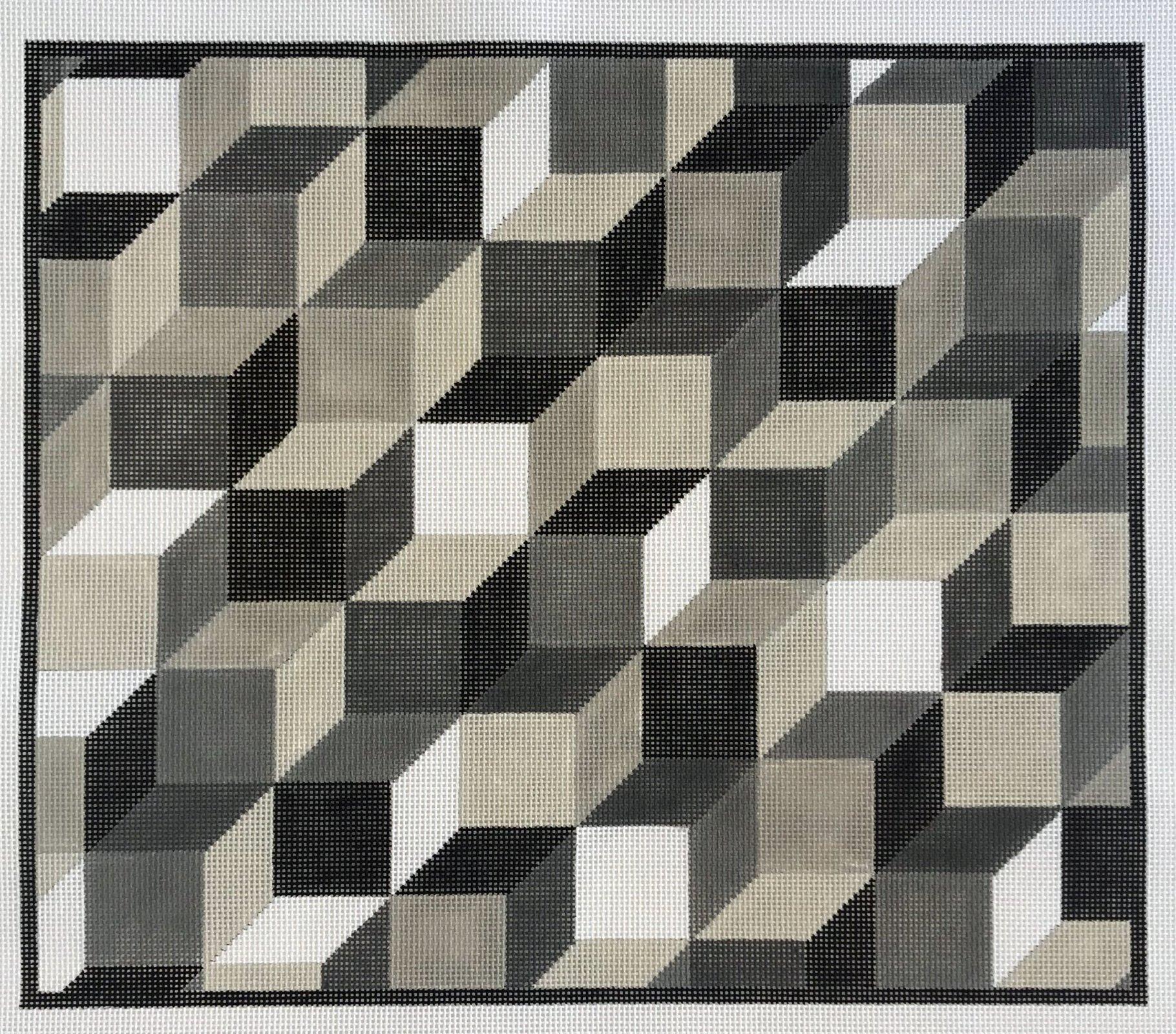 Black & White & Grey Cubes