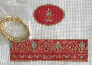 Red & Gold Hinged Box