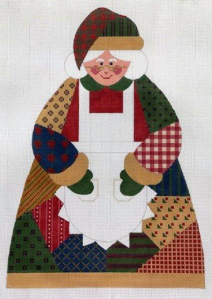 Patchwork Mrs. Santa