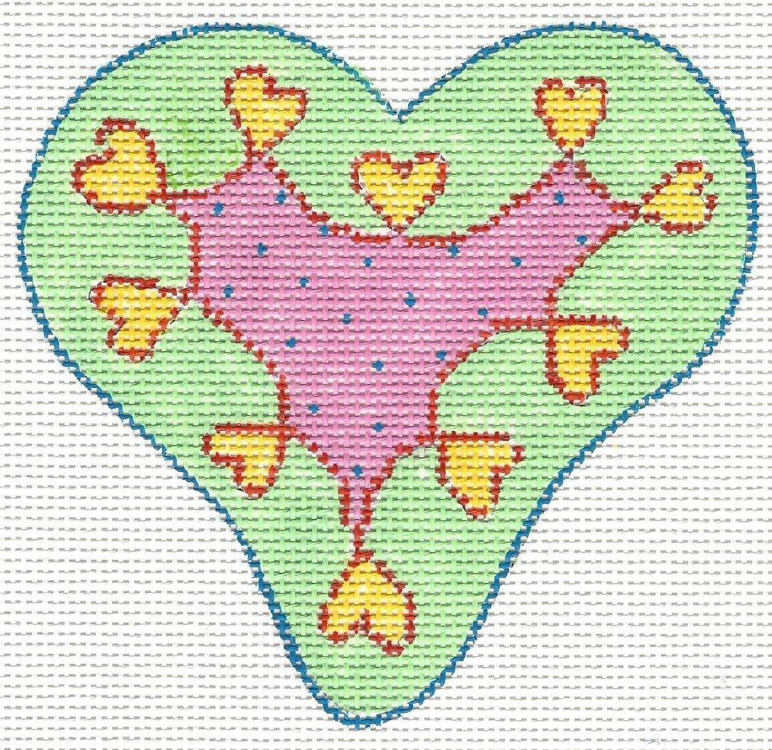 Green Mini Hearts
