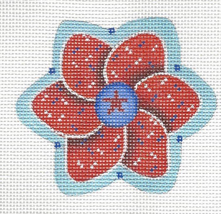 Americana - Red Pinwheel