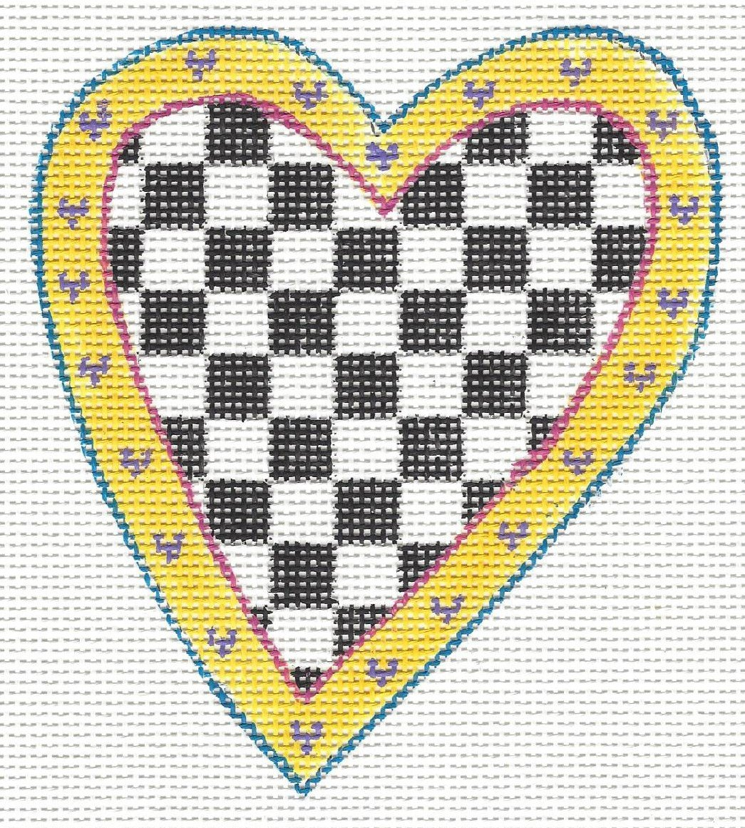 Check Yellow Heart