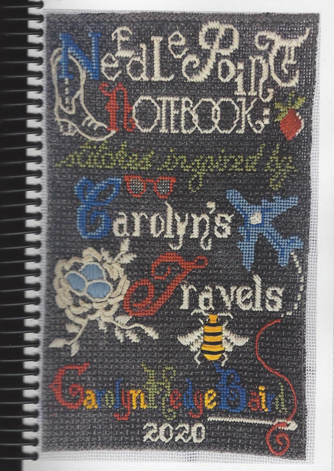 Needlepoint Notebook: Stitches Inspired by Carolyn's Travels