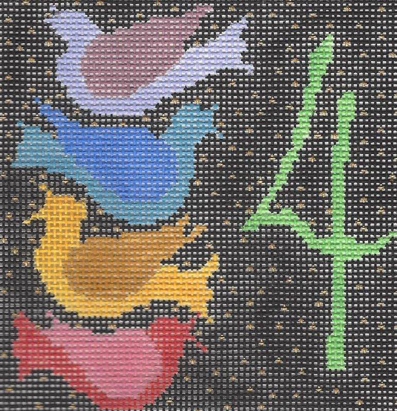 Twelve Days - #4 Birds