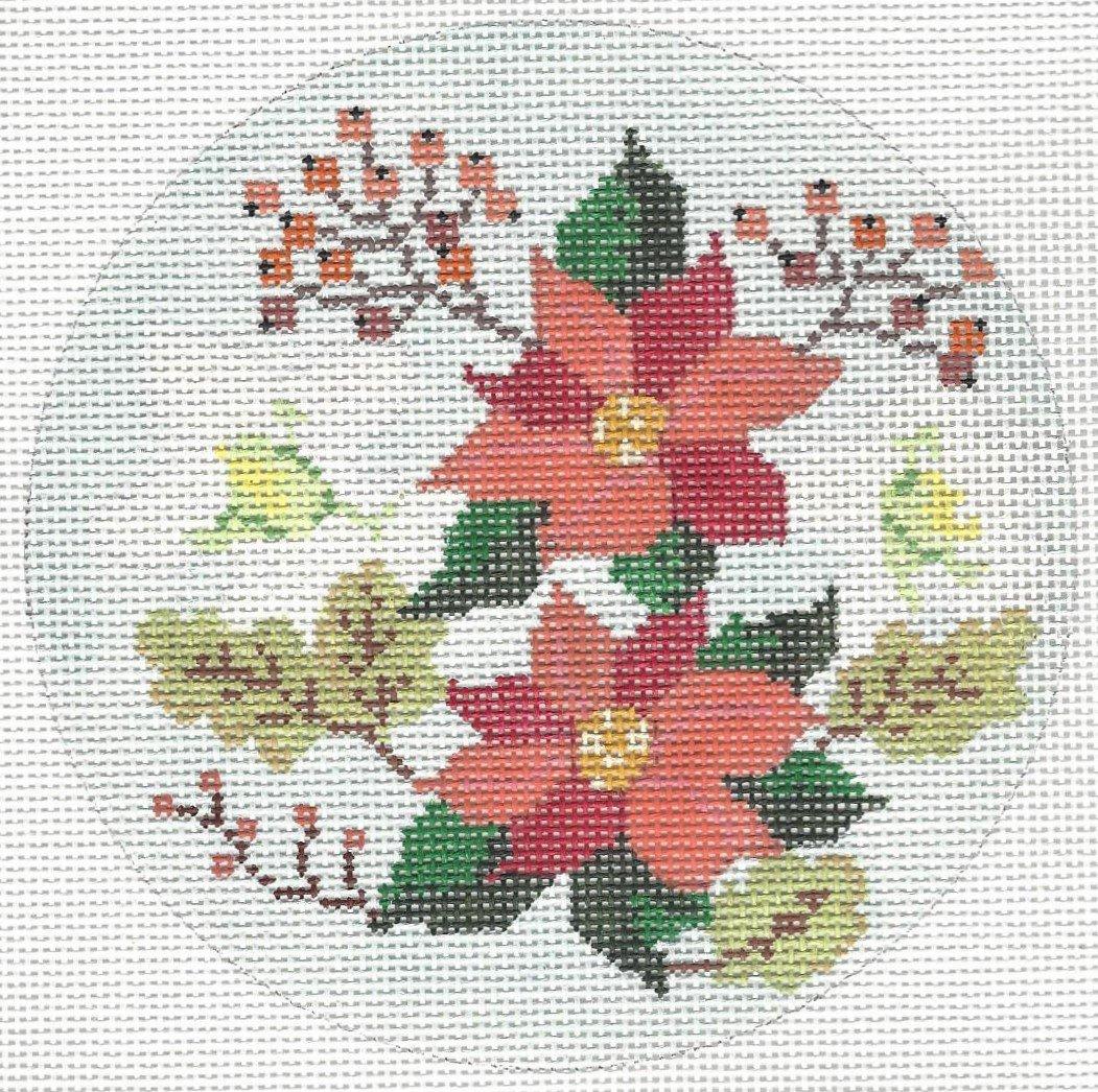 Winter Floral Round