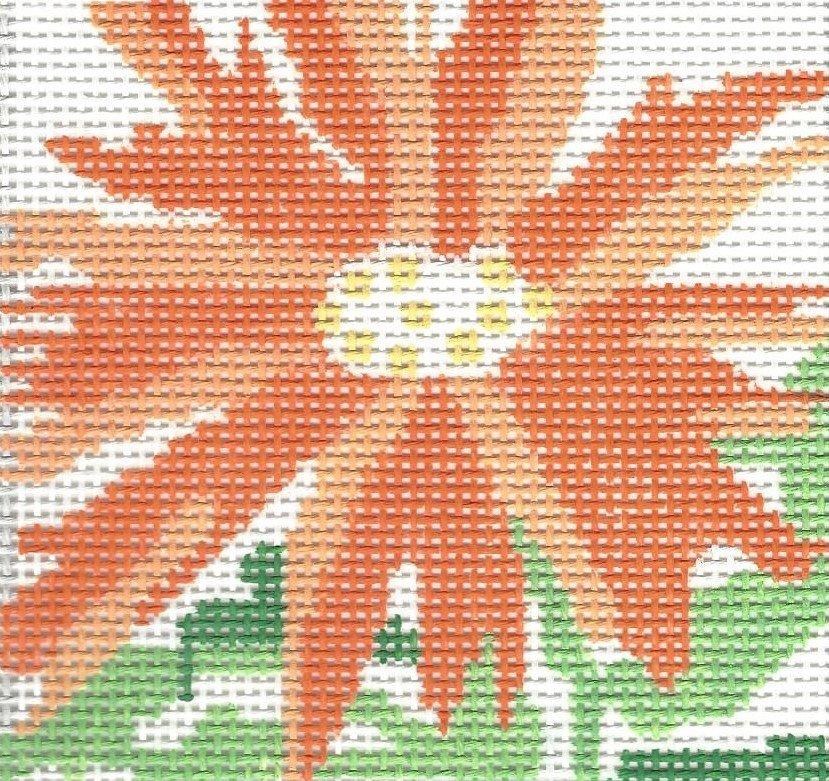 Splash Flower Coaster Orange