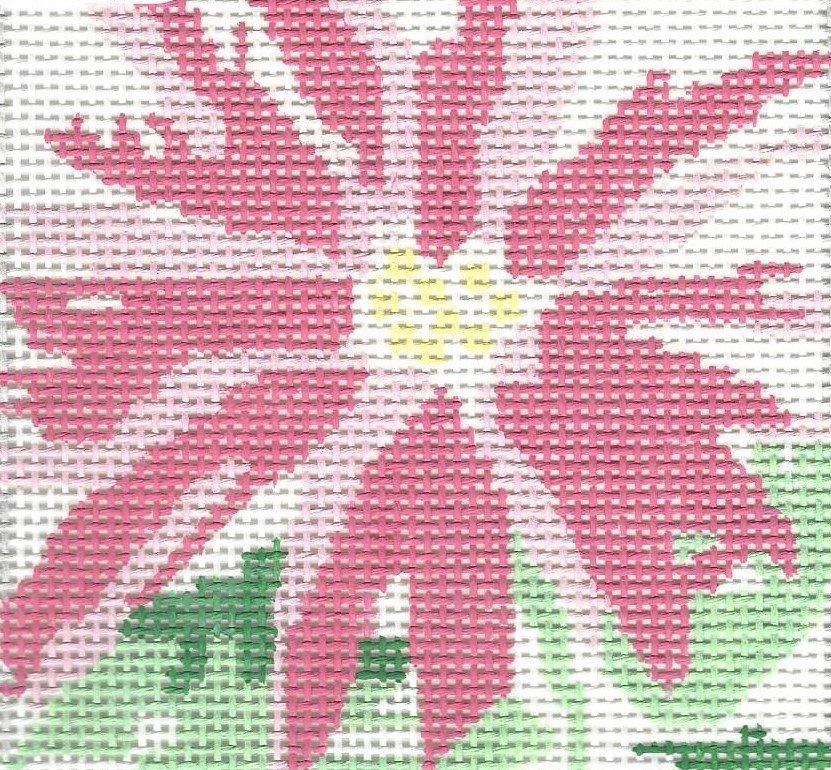 Splash Flower Coaster Pink