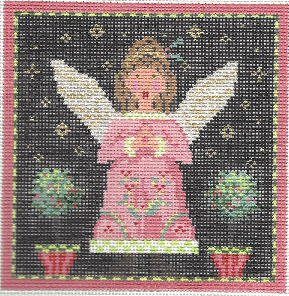 Angel - Pink Topiary