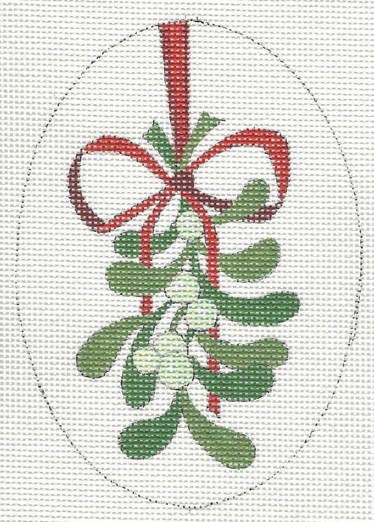 Oval - Mistletoe
