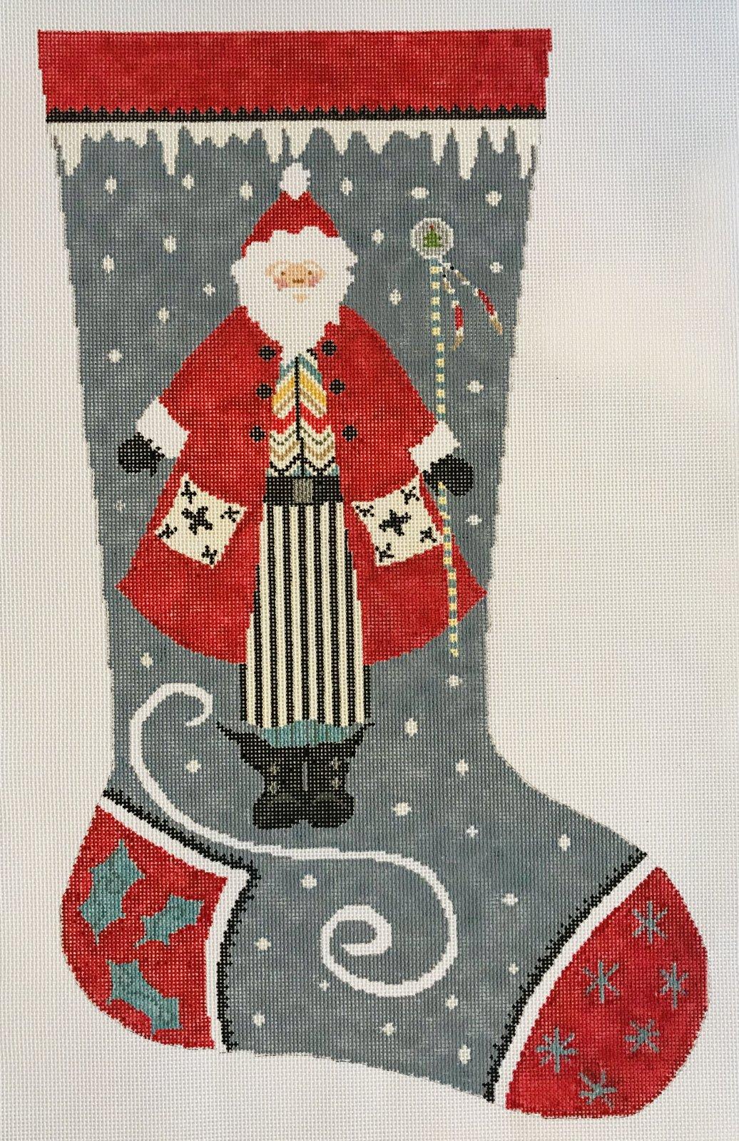 Stocking - Snow Santa