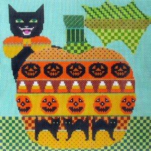 Kitty Jack-O-Lantern