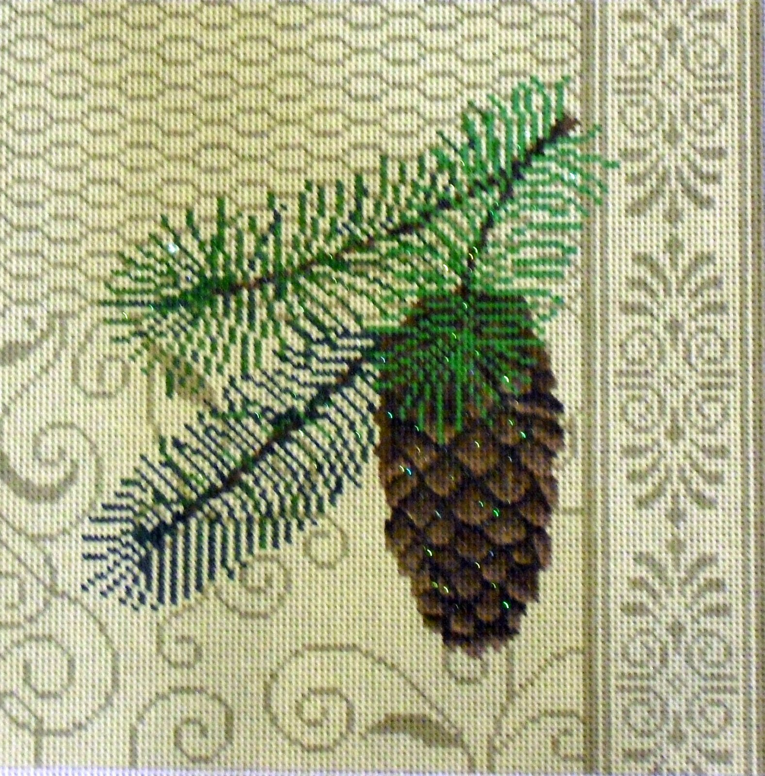 Pinecone Patchwork