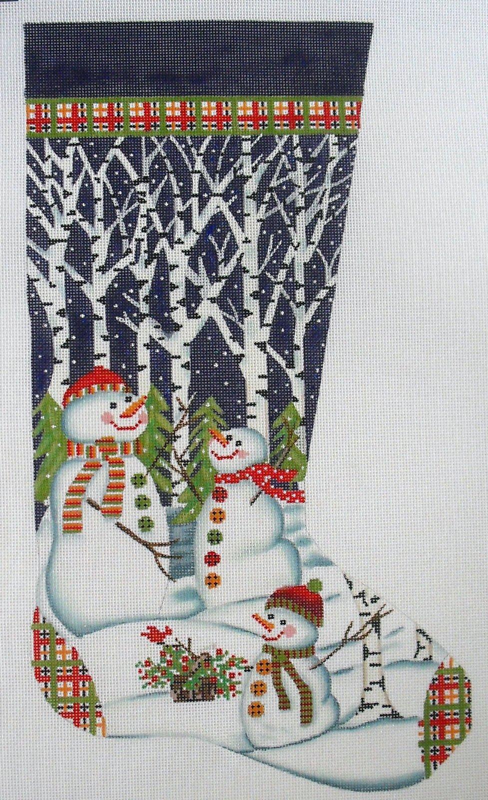 Snowmen in Trees
