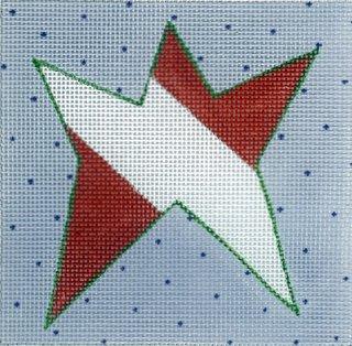Red-Striped Star
