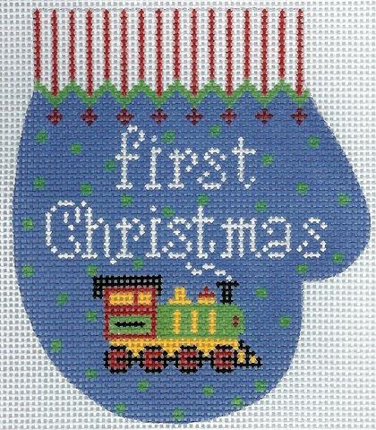 First Christmas Mitten - Boy