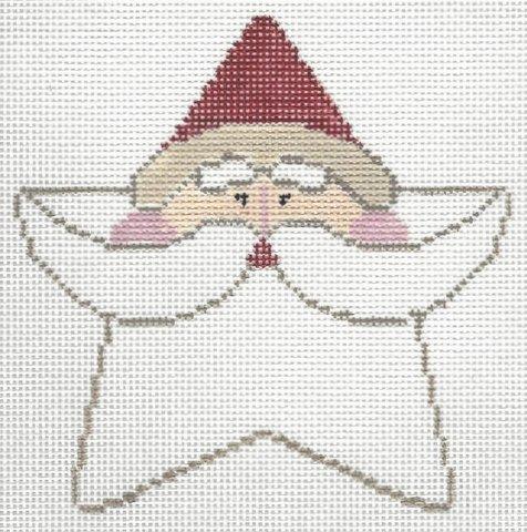 Santa Face Star