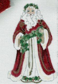 English Holly Santa