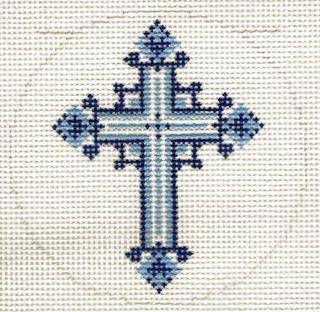 Round - Blue Cross