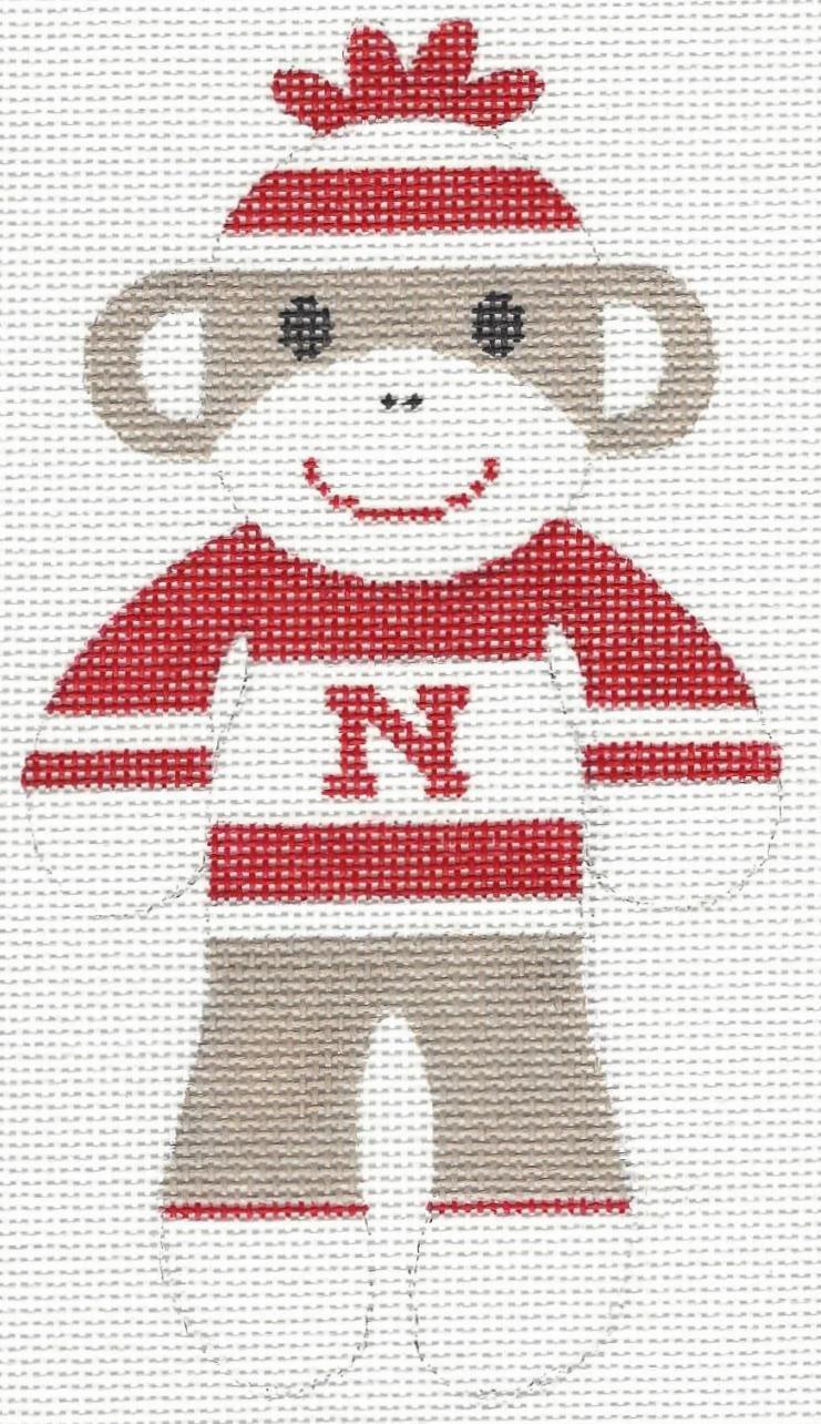 Nebraska Sock Monkey