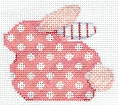 Bunny Baby Pink Polka Dot Baby Bunny