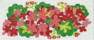 Geraniums Insert - red