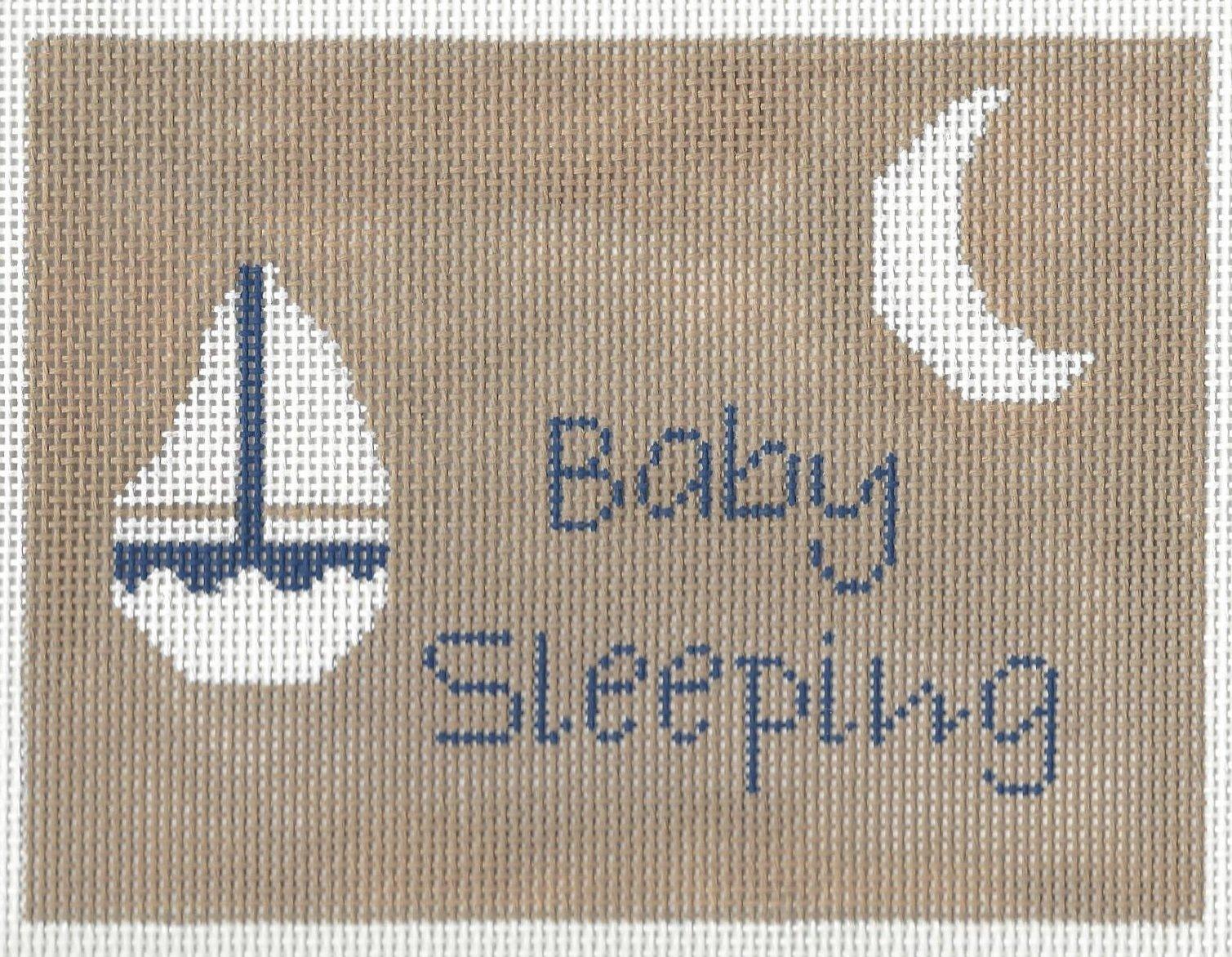 Baby Sleeping Sail Boat