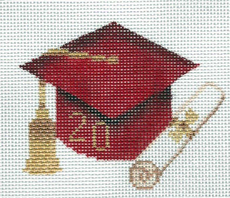 Graduation Hat Red
