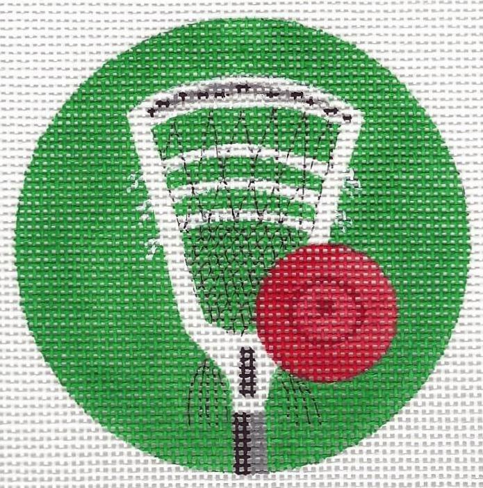 Lacrosse ornament