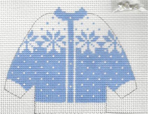 Cardigan Blue Snowflake