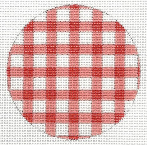 Bright Red Check Disk