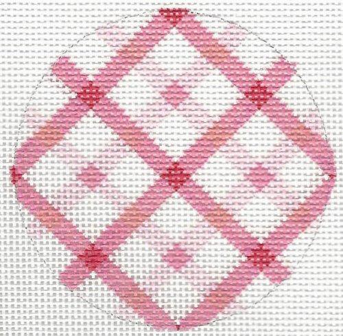 Bright Pink Grid Disk