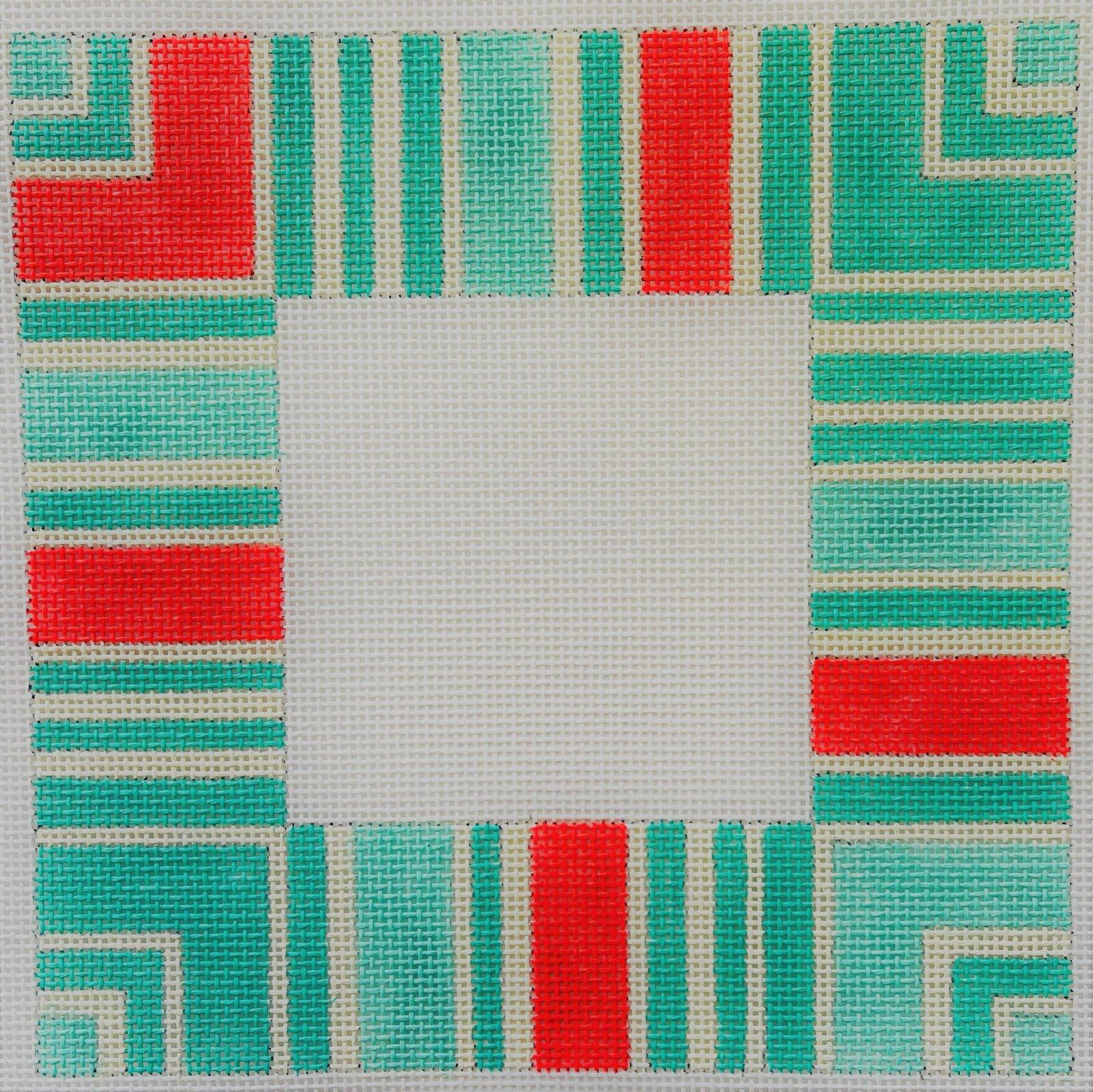 Frame - Strictly Striped in Seafoam