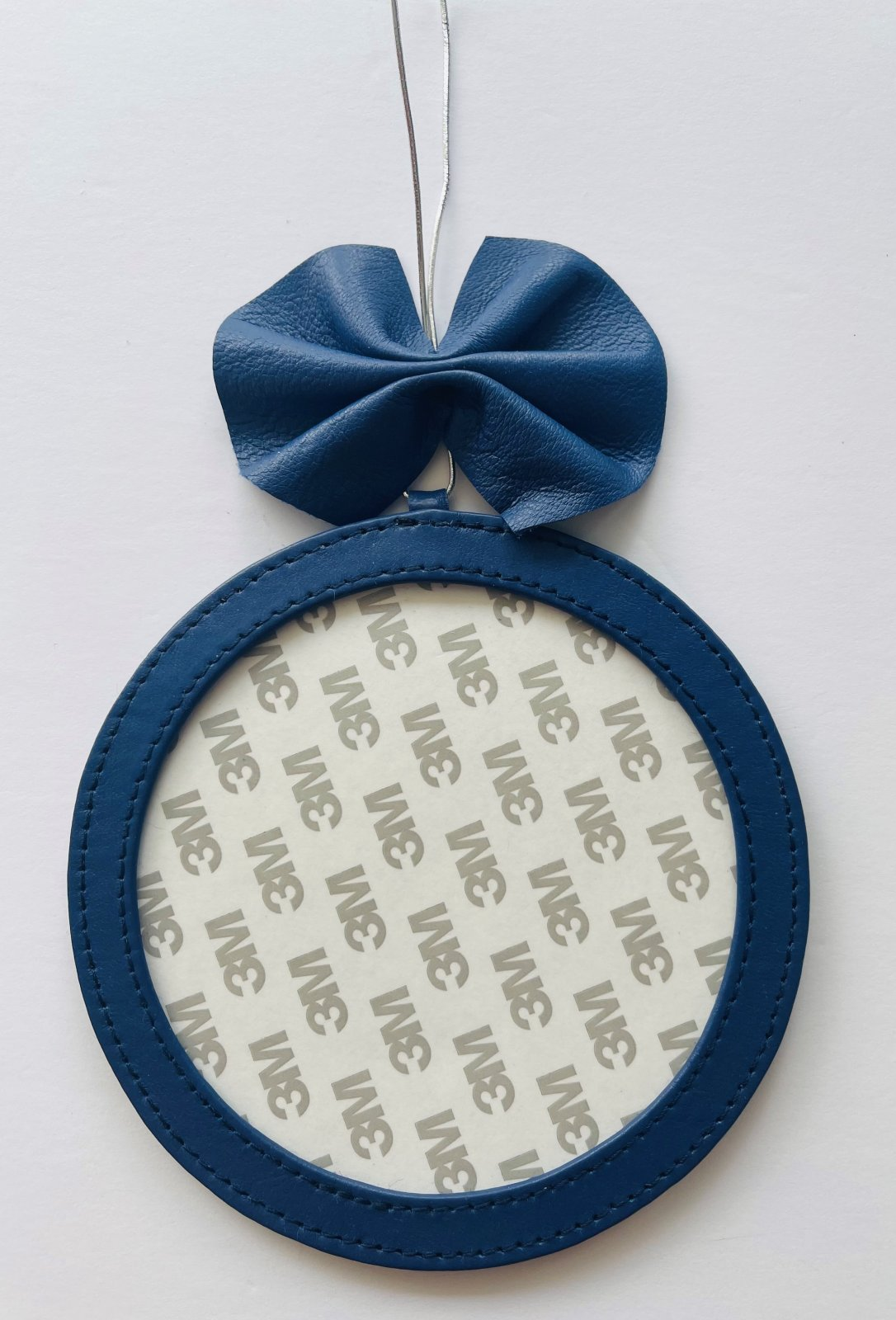 5 Round Holiday Ornament - Royal Blue