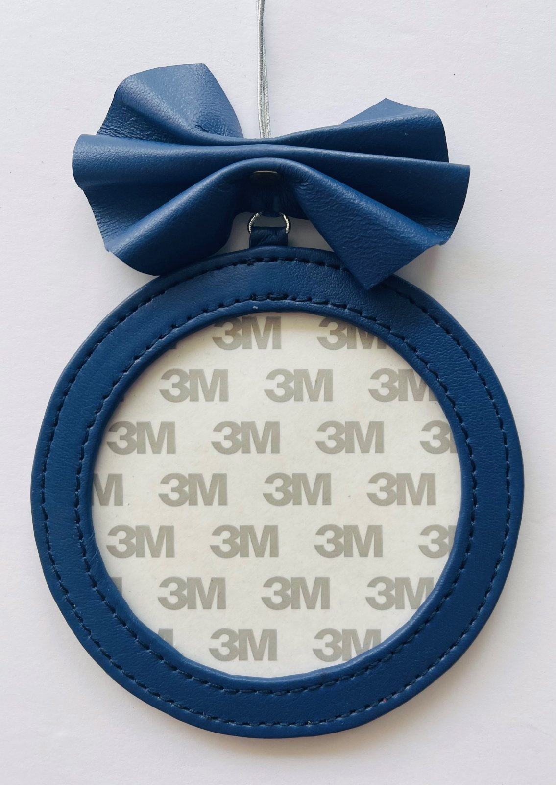 4 Round Holiday Ornament - Royal Blue