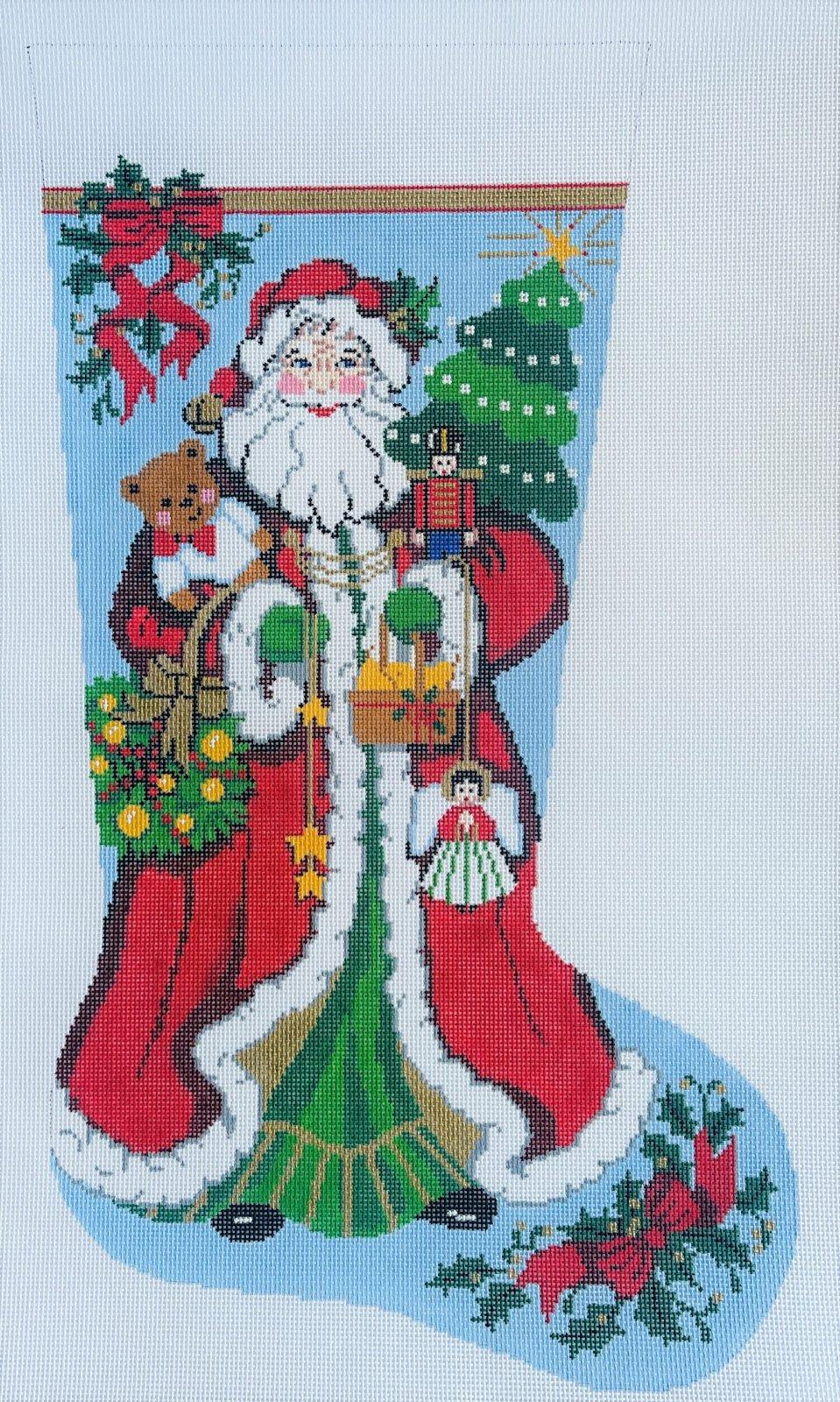 Stocking - Happy Santa