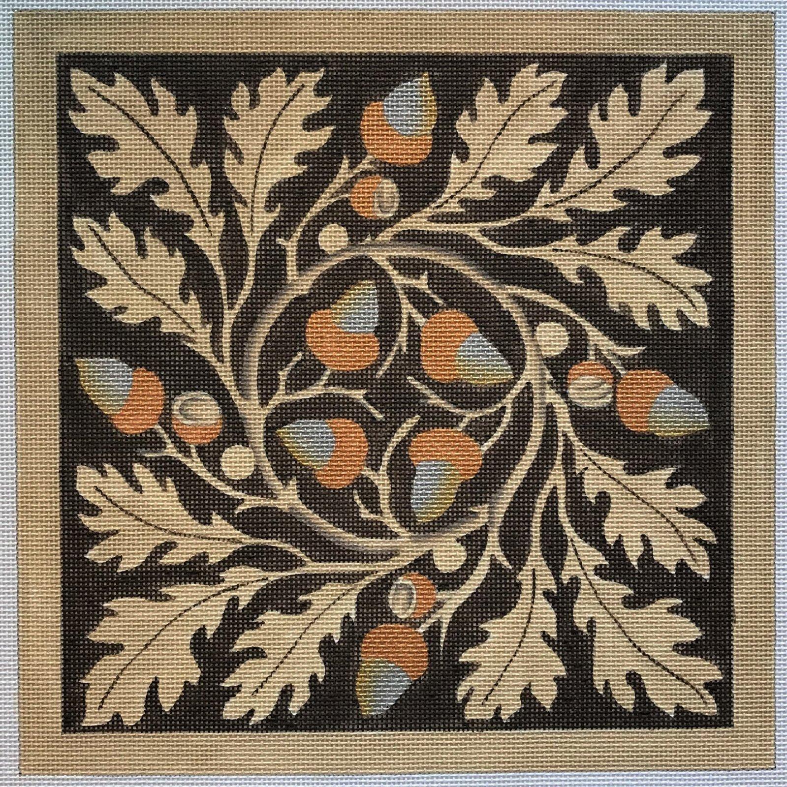Acorn & Leaves
