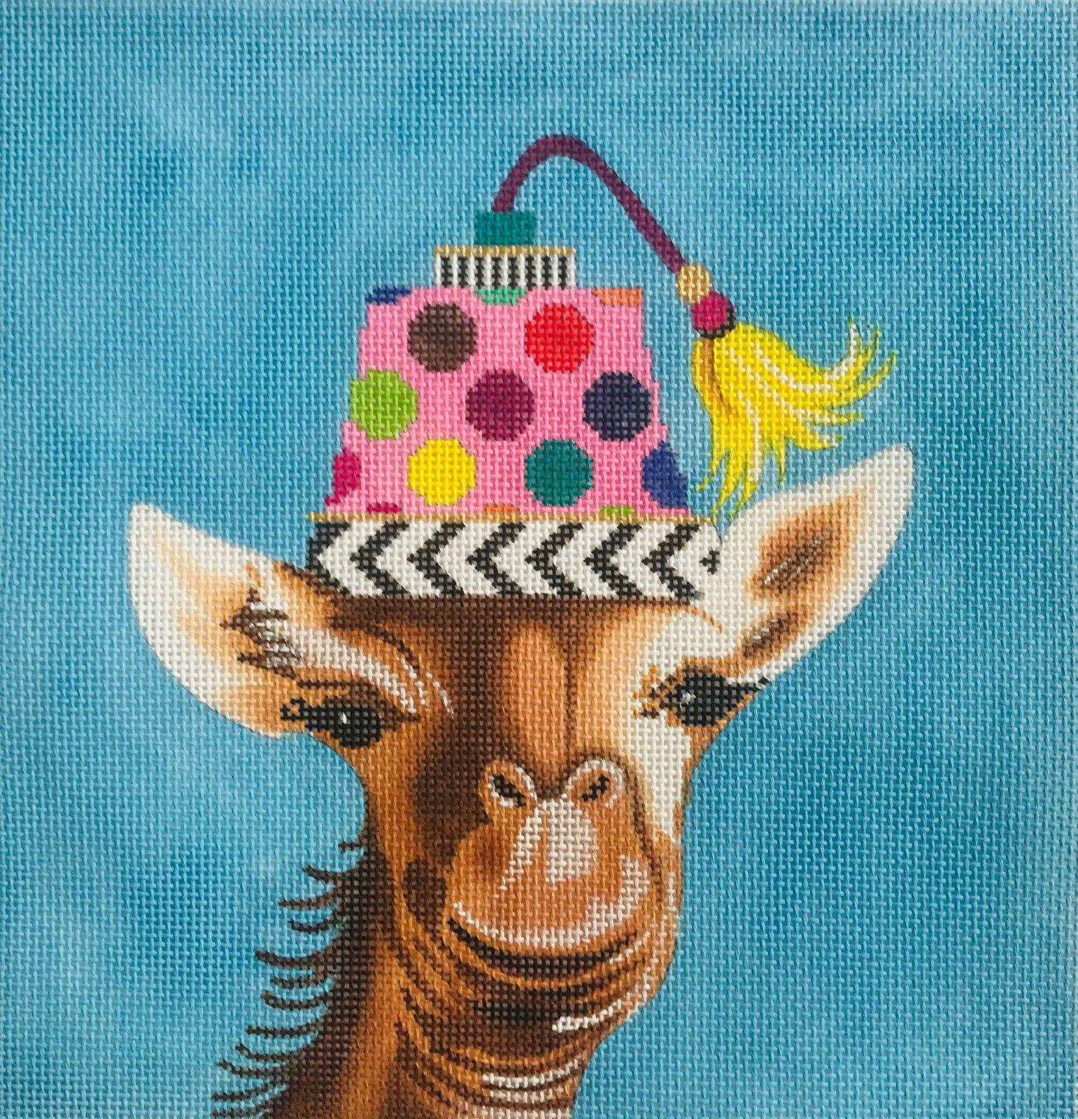Giraff with Hat