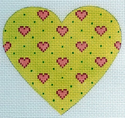 Baby Hearts - Lime