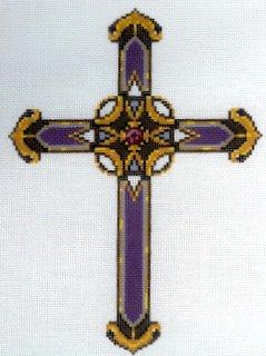 Cross - Purple