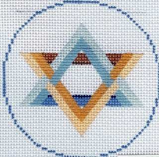 Round - Star of David